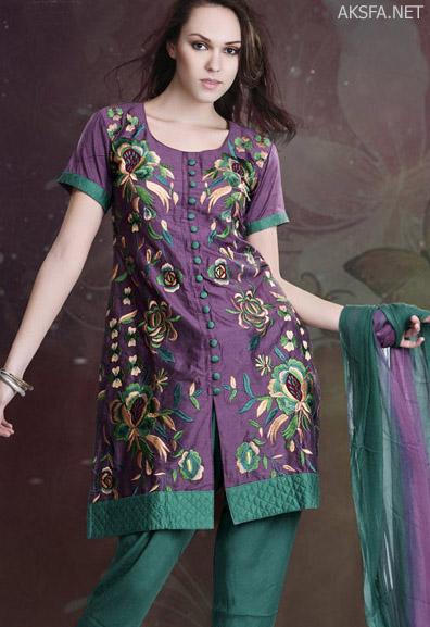 مدل لباس زنانه جدید - پاکستانی 2011