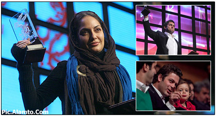 عکس های اختتامیه جشنواره فیلم فجر 29